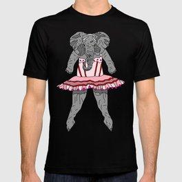 Elephant Ballerina Tutu T-shirt