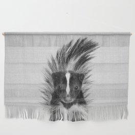 Skunk - Black & White Wall Hanging