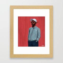 Elfish Fashion Framed Art Print