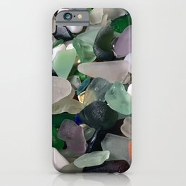 Sea Glass Assortment 6 iPhone Case