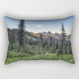 View of the Tatoosh Range Rectangular Pillow