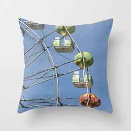 Ferris whell Throw Pillow
