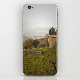 vineyard in veneto iPhone Skin