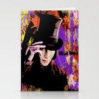 willy wonka Stationery Cards featuring Willy Wonka  by Zoé Rikardo