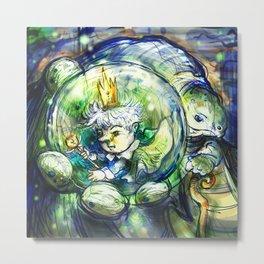 The Frog's Prince Metal Print