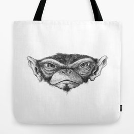 Mr. Monkey Robert Tote Bag