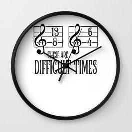 Music Orchestra Conductor sarcasm Choir Gift Wall Clock
