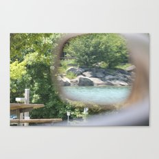 Always looking back (Don't Forget to Remember) Canvas Print