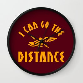 I Can Go The Distance Wall Clock