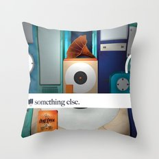 Something Else (a different sound). Throw Pillow