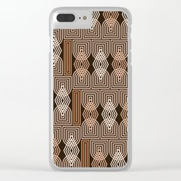 Op Art 184 Clear iPhone Case