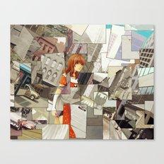 Time Montage Canvas Print