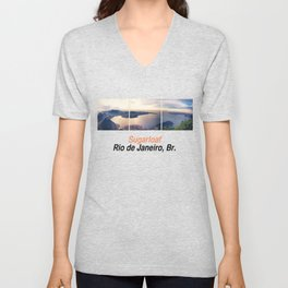 Rio Sequence 1/3 Unisex V-Neck