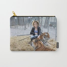 Tiger Macha Carry-All Pouch