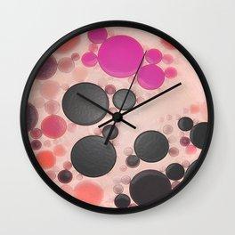 :: Pink Kimchi :: Wall Clock
