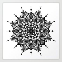 monika's mandala Art Print