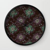Branches pattern Wall Clock