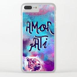 Amor fati Clear iPhone Case