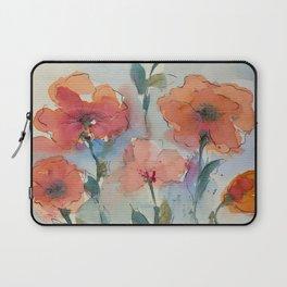 Flowers in watercolor Laptop Sleeve
