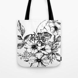Rave On Tote Bag