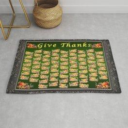 Give Thanks Rug