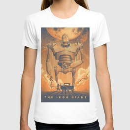 The Iron Giant Movie Poster T-shirt