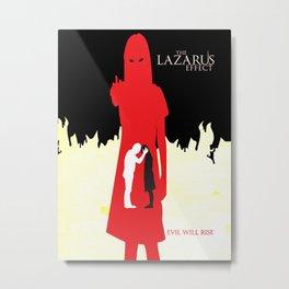 The Lazarus Effect Movie Minimalist Poster Metal Print