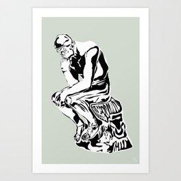 PENSEUR Art Print