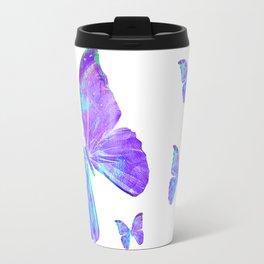 Purple Butterfly II by Jan Marvin Travel Mug