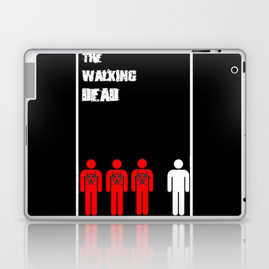 The Walking Dead Minimalist Laptop & iPad Skin
