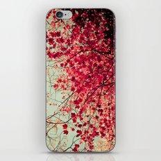 Autumn Inkblot iPhone & iPod Skin