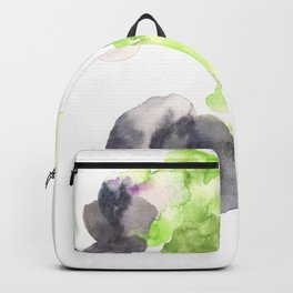 170714 Abstract Watercolour Play 14  Modern Watercolor Art   Abstract Watercolors Backpack