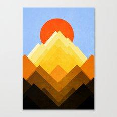 G Mountain Canvas Print