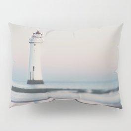 New Brighton Lighthouse at sunrise Pillow Sham