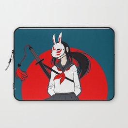 Kitsune Bunny Warrior Laptop Sleeve