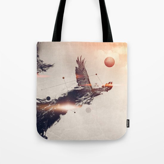 Break away Tote Bag