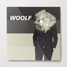 Woolf Metal Print