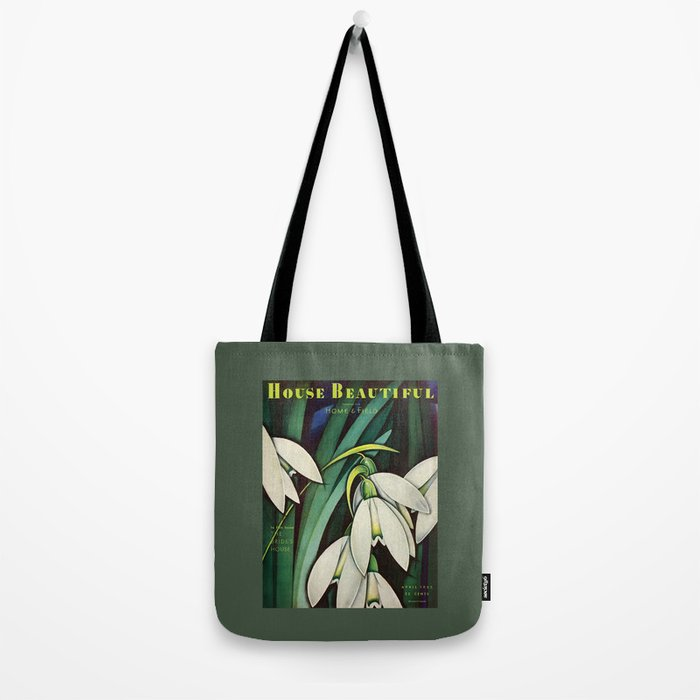 House Beautiful April 1935 Tote Bag