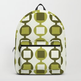 Beads Pattern in Fresh Lime Green Backpack