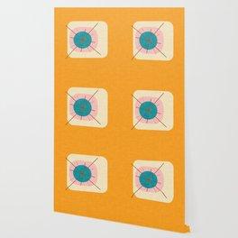 Flower Eggs Yellow Wallpaper