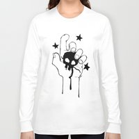 witchcraft Long Sleeve T-shirts featuring Witchcraft (The Cut) by ashurcollective