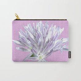 Pink Chive Floral | Nadia Bonello Carry-All Pouch