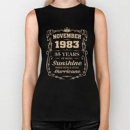 November 1983 Sunshine mixed Hurricane Biker Tank