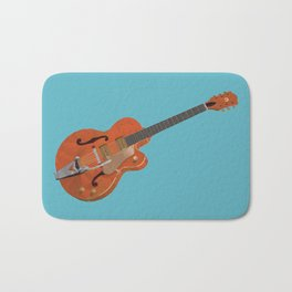 Gretsch Chet Atkins Guitar polygon art Bath Mat