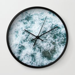 Waves in Abstract Wall Clock