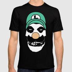 Misfit Luigi MEDIUM Black Mens Fitted Tee