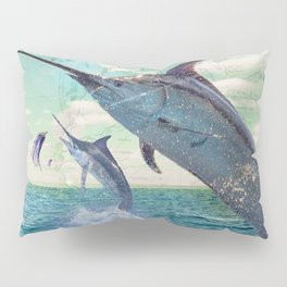 Catch a Marlin if You Can Pillow Sham