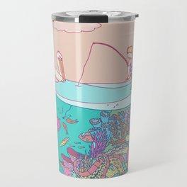Busy underwater Travel Mug