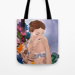 the inky spellcaster Tote Bag