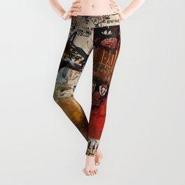 Kaos Red Leggings
